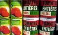 Produkty značky Monoprix vedle ostatních potravin
