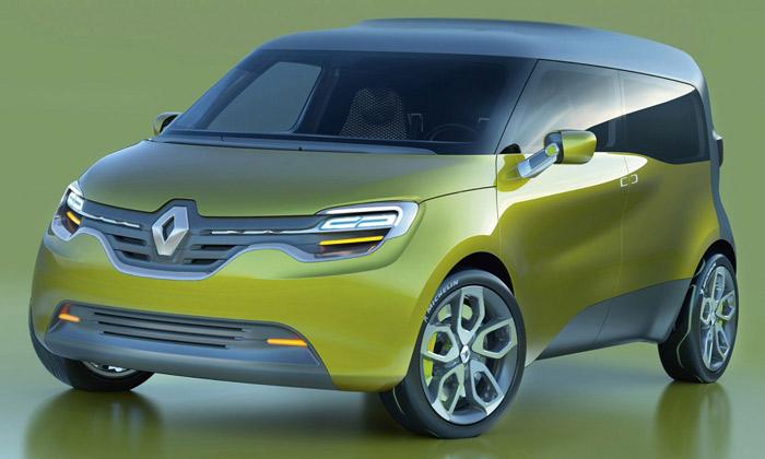 Renault Frendzy mění barvy interiéru podle využití