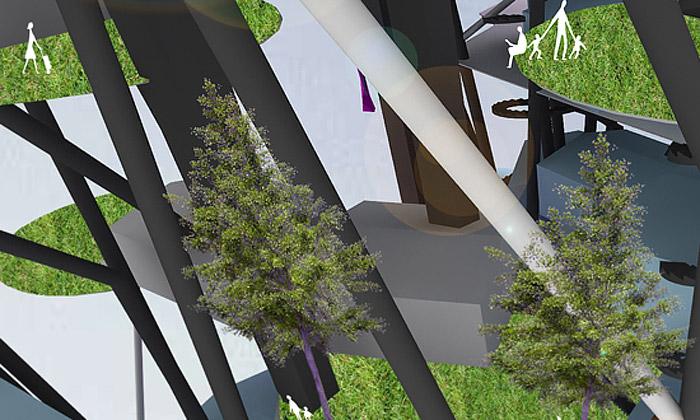 Český architekt vMVRDV navrhuje Vertical Village