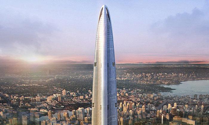 Wuhan Greenland bude čtvrtá největší stavba světa