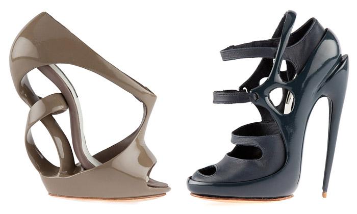 Victoria Spruce navrhuje nevšední futuristické boty