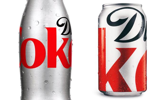 Diet Coke dostane limitovaný minimalistický vzhled