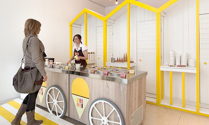 Elips Design navrhli malebnou zmrzlinárnu Dri Dri