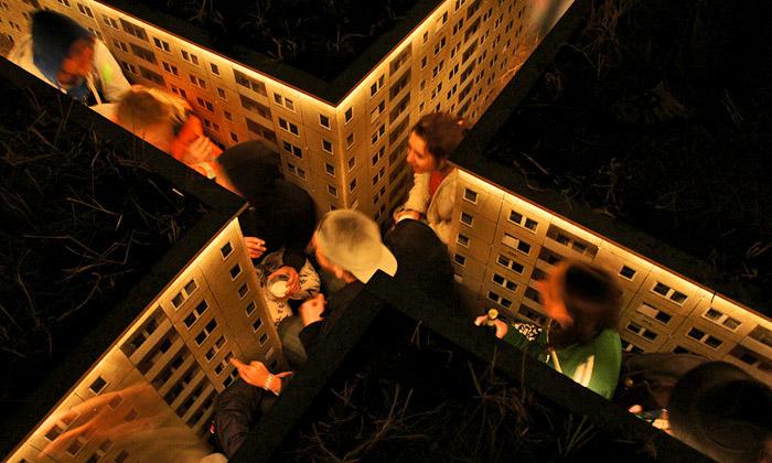 Nedaleko Hamburku stojí miniaturní město pod zemí