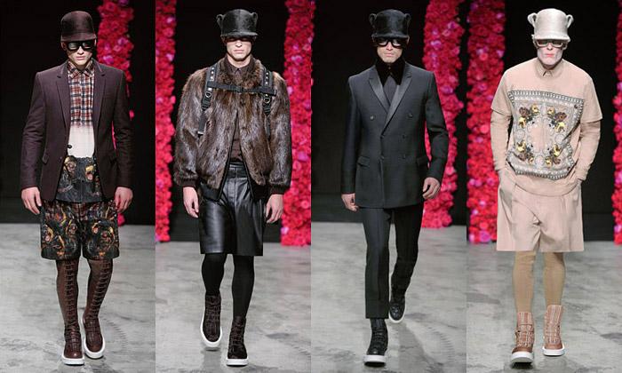 Givenchy udělá spodzimní kolekcí zmužů rváče