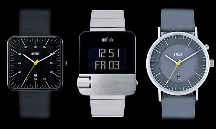 Dieter Rams navrhl retro hodinky ahodiny Braun