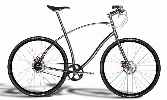 Paul Budnitz vyrábí městská jízdní kola ztitanu
