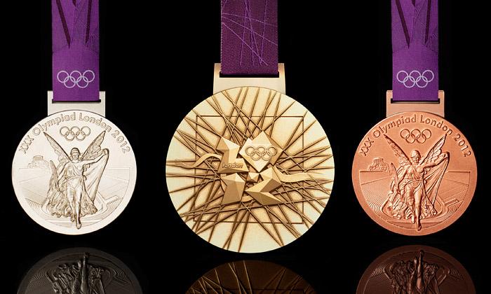 Londýnská olympijská medaile jenejvětší anejtěžší
