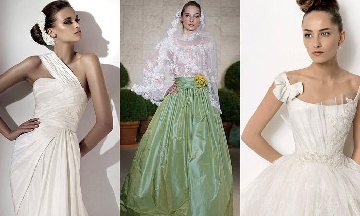 Nejlepší svatební šaty 2011 odsvětových návrhářů
