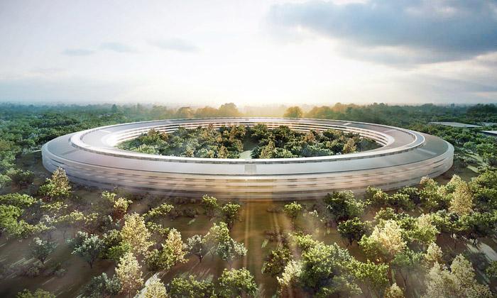 Foster + Partners postaví sídlo Apple doroku 2015