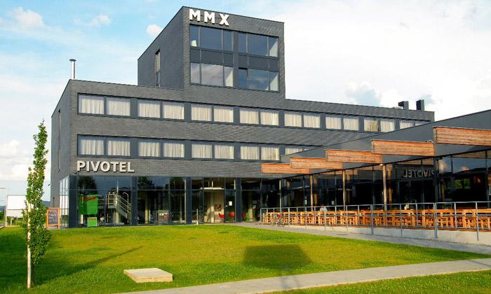 Pivotel MMX láká namoderní interiér ivlastní pivo