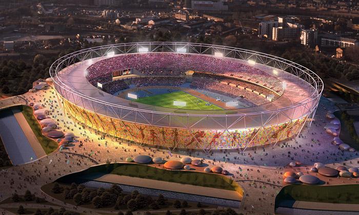 Olympijský stadion vLondýně čeká 80 tisíc diváků