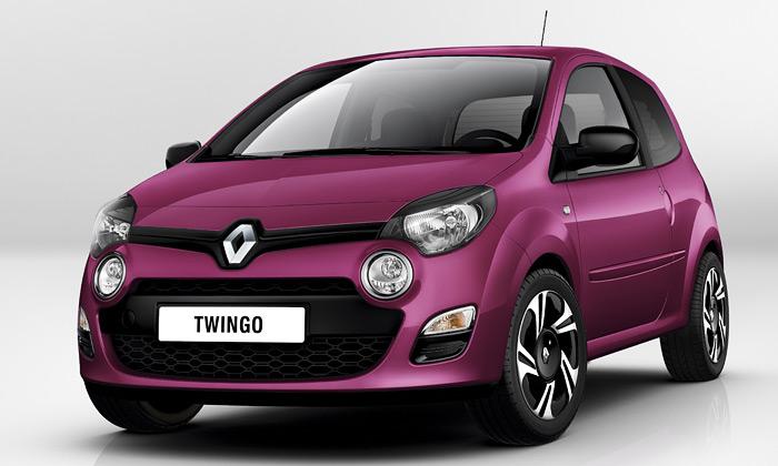 Renault Twingo sevrací povelké omlazovací kůře