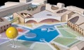 Vítězný návrh na přestavbu ostrova New Holland v Petrohradě od WORKac