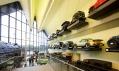 Zaha Hadid a interiér jejího dopravního Riverside Museum
