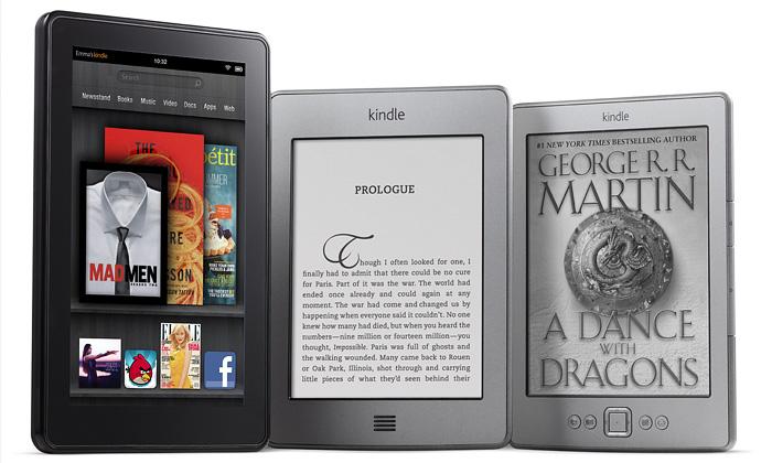Amazon uvádí nové čtečky ilevný tablet Kindle Fire
