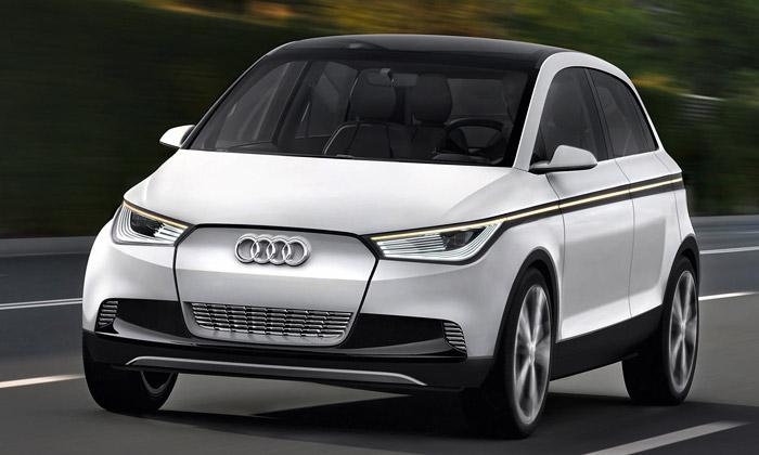 Audi A2 Concept jeelektrický stvary zbudoucnosti