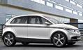Elektricky poháněný koncept vozu Audi A2 Concept