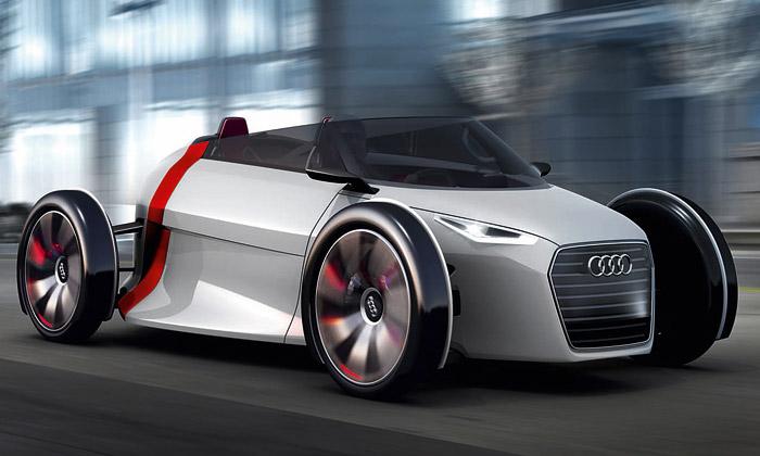 Audi předvedlo dva retrofuturistické vozy Urban