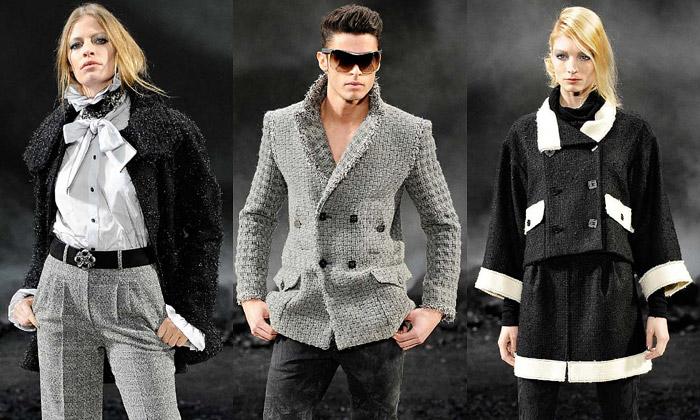 Lagerfeld oživil grunge vesvé kolekci pro Chanel