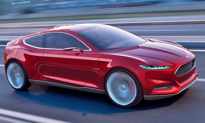 Ford Evos jeunikátní koncept sportovních tvarů