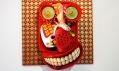 Záběr zvýstavy The Fusion Art of Shalom Tomas Neuman veVeletržním paláci