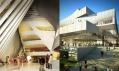 Finální návrhy studií 3XN aHenning Larsen Architect nakoncertní halu vDublinu