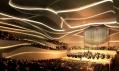 Návrh studia 3XN na koncertní halu v Dublinu