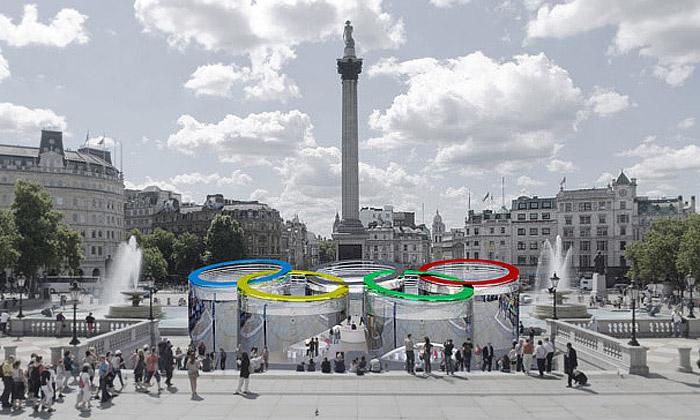 Olympijský informační pavilon bude mít tvar kruhů