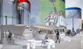 Vítězný návrh na informační pavilon letních olympijských her Londýn 2012