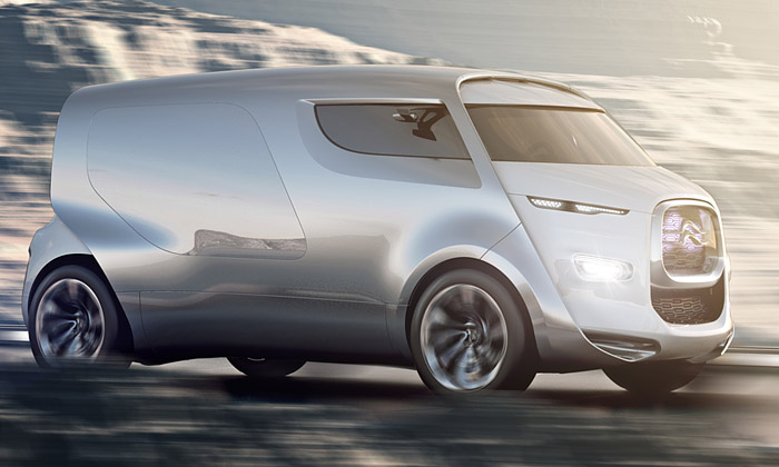 Citroën Tubik jefuturistický vůz sretro nádechem