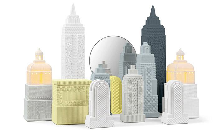 Lladró ukáže naDesignbloku porcelánový Metropolis