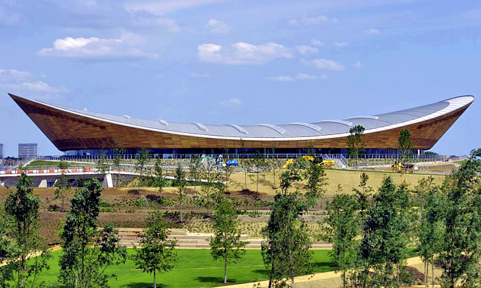 Olympijský velodrom vLondýně byl inspirován koly
