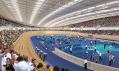 Olympijský velodrom v Londýně na vizualizaci před stavbou