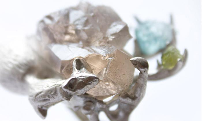 Na Designblok míří šperky Lure vpřírodní podobě