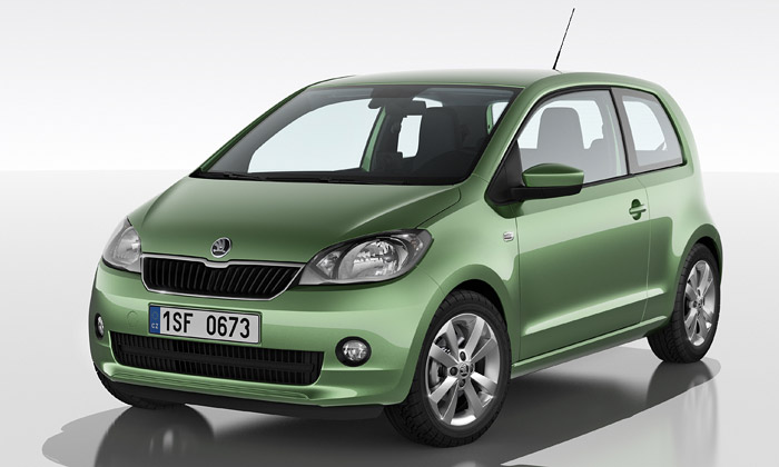 Představen nejmenší vůz Škoda sejménem Citigo