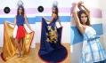 Veronika Benešová a její kolekce pro Miss International 2010