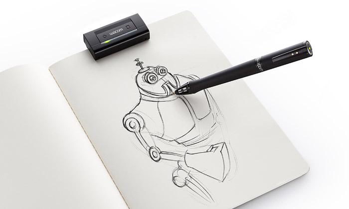 Wacom Inkling převádí klasickou kresbu nadigitální