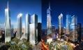 Světové obchodní centrum neboli WTC po dokončení všech budov
