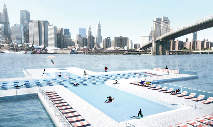 New York plánuje bazén +Pool sčistou vodou zřeky