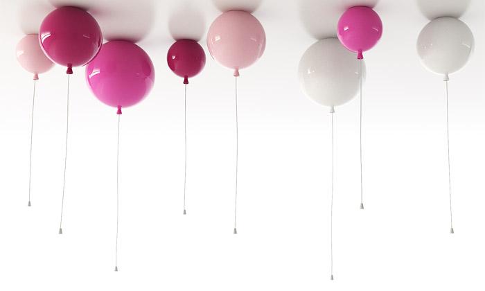 Brokis představil osm nových světel včetně balónků