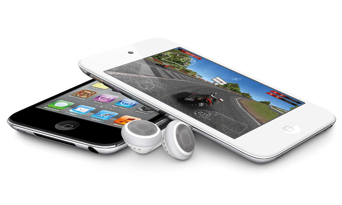 Apple vylepšil iPody apřidal nový bílý iPod touch