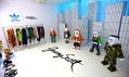 Instalace Adidas Originals by Jeremy Scott na přehlídce Designblok 2011