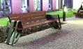 Ondřej Elfmark a jeho lavička Integral vyráběná u Mmcité