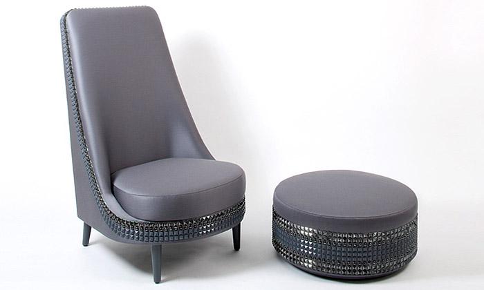 Lee Broom vytvořil luxusní nábytek vestylu punku