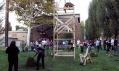 Přírodní pavilon nazvaný Trpělivý zahradník v Miláně od firmy Visiondivision
