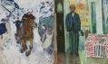 Edvard Munch a ukázka jeho děl z výstavy v Centre Georges Pompidou v Paříži