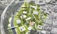 NL Architects na výstavě v GJF: Soutěžní návrh Černá louka v Ostravě