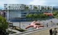 Vítězný projekt Transitlager na přestavbu skladů v Basileji od BIG