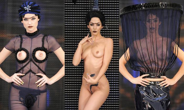 Charlie Le Mindu provokuje nahou arabskou kolekcí